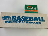 1987 FLEER BASEBALL CARD Factory SET UNSEARCHED Plus Sealed Traded Set