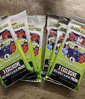 (Lot of 6) 2020-21 Panini Prizm Premier League Soccer Cello Fat Value Packs EPL