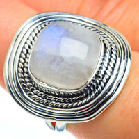 Rainbow Moonstone 925 Sterling Silver Ring Size 8 Ana Co Jewelry R45723F