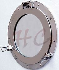 "15 ""Aluminium Porthole Port Window Ship Boat Port Hole Round Nautical Wall Decor"