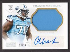 2013 National Treasures Rookie Patch Auto Silver 256 Chance Warmack 38/99 Titans