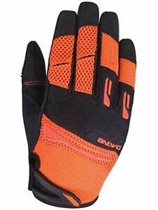 Dakine CROSS-X Womens Full Finger Mountain Bike Gloves M Bright Coral NEW Sample
