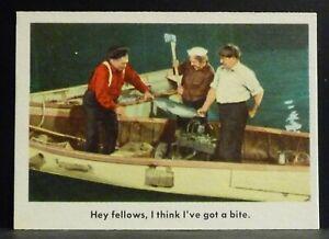 "Fleer Trading Card 1959 THREE STOOGES #19 ""Hey fellows"" EX-NM Nice Centering"