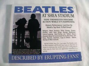 The Beatles, Beatles At Shea Stadium CD, Porcenium Records, 2013, New