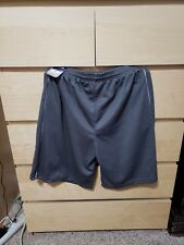 Reebok Mens Athletic Mesh Shorts Nwt Xl Grey