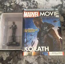 Korath - Issue 40. Eaglemoss Marvel Movie Collection Figure & Magazine