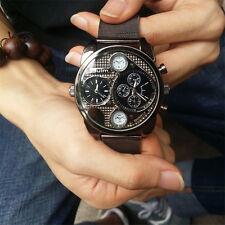 Luxury Brand Design Oulm Watches Men Full Steel Quartz-watch Military Wristwatch