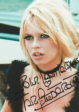 Autographe Original de BRIGITTE BARDOT..