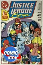 JUSTICE LEAGUE EUROPE #1  (1989) 1ST PRINTING BAGGED & BOARDED DC COMICS