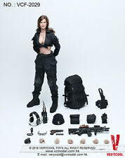 Verycool Vcf2029 1:6 Acu Black Woman Shooter Female Figure Model Toy Ready ship