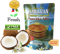 3 PACK CREAMY COCONUT PANCAKE MIX REAL COCONUT MILK  8 oz. 226 g HAWAIIAS BEAST