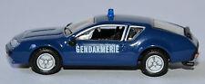 Renault Alpine A 310 V6 1977 - Gendarmerie - 1976-80 - 1:87 blau / blue