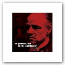 CRIME MOVIE POSTER Quote The Godfather