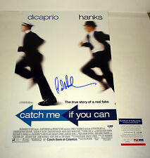FRANK ABAGNALE CATCH ME IF YOU CAN SIGNED AUTOGRAPH MOVIE POSTER PSA/DNA COA