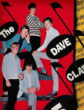 THE DAVE CLARK 5 -1965 TOUR CONCERT PROGRAM- SIGNED BY DAVE CLARK & 3 - NICE