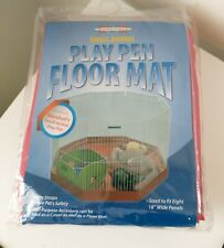 Marshall Pet Products Small Animal Play Pen Floor Mat NEW