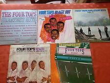 Job Lot Vinyl with FREEPOST Four Tops 5 Albums Chk pics BARGAIN inc REACH OUT