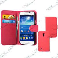 Etui Housses Coque Portefeuille ROSE Samsung Galaxy S4 mini i9190/i9192/i9195