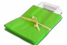 30 Papiertragetaschen grün 18x8x22 Papiertüten Papier Tragetaschen Taschen Tüten
