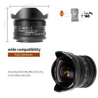 7artisans 7.5mm F/2.8 Manual Focus Fisheye Lens For Fuji X FX Mount X-T2 X-E1