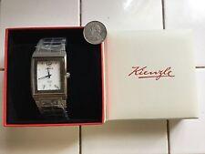 KIENZLE KLASSIK KZV81232120032 Men's Watch $570.00MSRP Value.