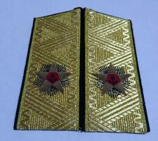 Soviet Russian Admiral of the Naval Fleet shoulder epaulets boards replica
