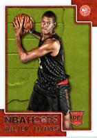2015-16 Hoops Atlanta Hawks Basketball Card #262 Walter Tavares Rookie
