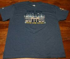 Notre Dame Football 2014 Irish Tradition T-Shirt tee Men 2XL The Shirt 25 Years
