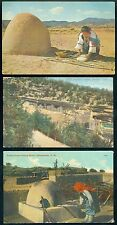 3- Native American-Indian Post cards 1910-1950 era      3 postal used,