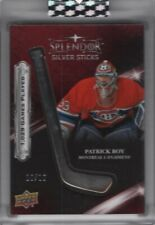 2017-18 Upper Deck Splendor Sterling Silver Sticks #SST-PR Patrick Roy 10/10