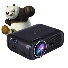 7000 Lumens HD 1080P LED Projector Home Movie Theater 3D VIEW VGA USB HDMI TV FG
