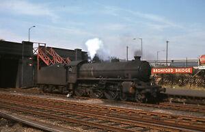 Original Slide BR/LNER B1 Steam Loco 61061 Bromford Bridge Stn 1964  Closed 1965
