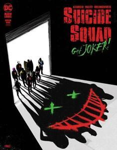 SUICIDE SQUAD GET JOKER #1 COVER B JORGE FORNES DC COMICS 2021 LN1