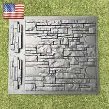 Set Molds Stone VENEER for Concrete Plaster Wall Stone Brick Tiles Cement