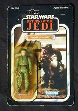 Star Wars ROTJ Rebel Commando Mint in Bubble Sealed Vintage 1983 Kenner 77-B