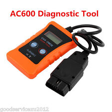 Portable OBD2 OBDII AC600 ELM327 Car Fault Diagnostic Scanner Tool Handheld Kit