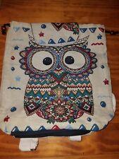 Owl Backpack Tote Bag