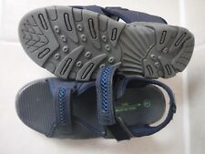 Boy's Sandals - navy blue - UK infant size 2 - NEW - Matalan