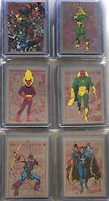 2014 Rittenhouse Marvel Universe Set of 446 Cards - See Description