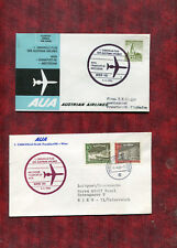 Österreich -  Erstflug  Wien-Frankfurt   u. Zurück  - 4.4.1964 ( 26969 )
