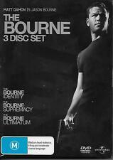 The Bourne 3 Disc Set