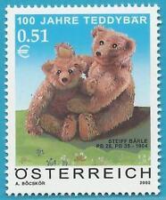 Österreich aus 2002 ** postfrisch MiNr.2385 - 100 Jahre Teddybär!