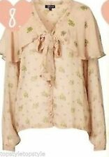 Topshop Floral Viscose Tops & Shirts for Women
