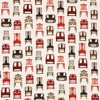 Robert Kaufman Asian Traditions Vintage Chairs 100% cotton fabric by the yard