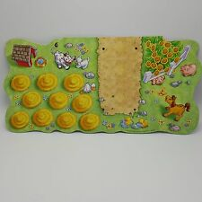 Old MacDonald Had A Farm Game 2002 Hasbro Replacement board Preschool