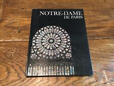Notre-Dame De Paris France Cathedral 1971 HC DJ Book Newsweek Wonders Of Man
