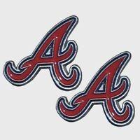 "Atlanta Braves Stud Earrings (""A"") MLB Baseball Licensed Jewelry Hypoallergenic"