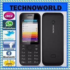 TELSTRA NOKIA 208+BLUE TICK/RURAL+3G+YOUTUBE+FACEBOOK+WHATSAPP+TWITTER+BLUETOOTH