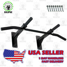 Wall Mounted Pull Up & Chin Up Bar with 3 Grip Positions