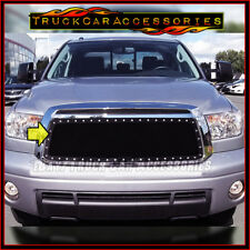 For TOYOTA Tundra 2010 2011 2012 2013 Black Mesh Rivet REPLACEMENT Grille 1PC